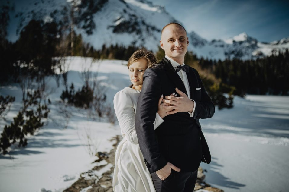 Tatry-Słowacja-Zima-Sesja-Ślubna-59