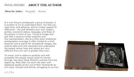 Fazal Sheikh website (detail)