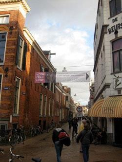 Noorderlicht banner in Groningen
