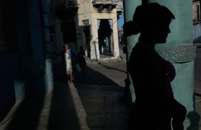 Street scene, Habana Vieja, November 2013.