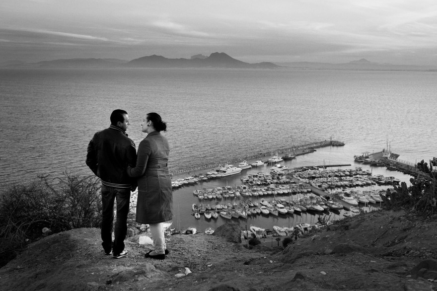 Couple in Sidi Bou Said