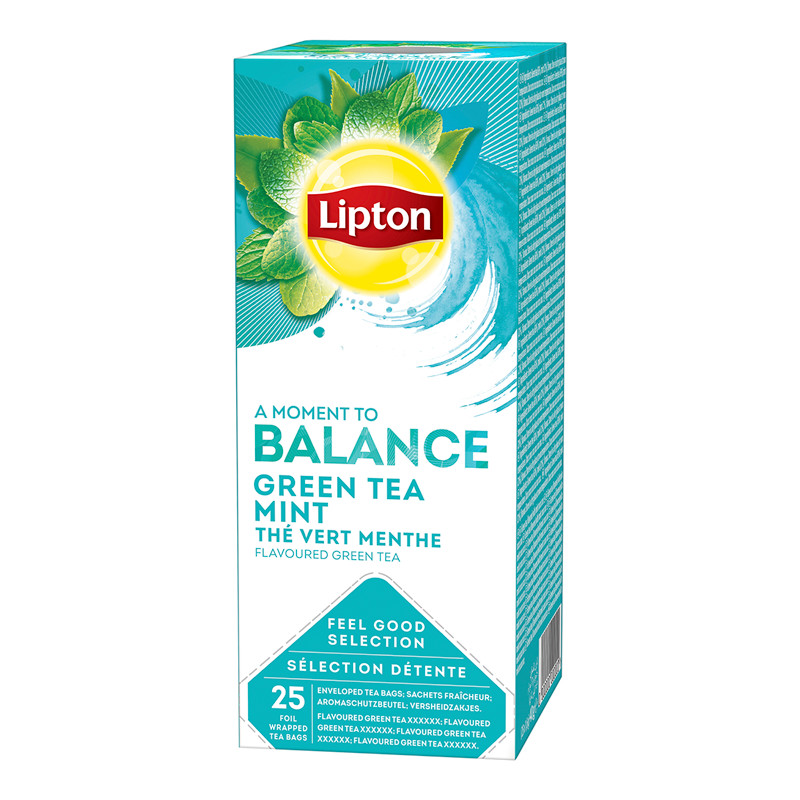 Find Te Lipton Green Tea Mint 25brevesk at Antalis