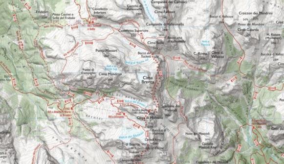 Dolomiti di Brenta - Webmapp