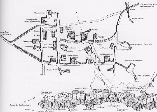 Planimetria Città di Ghiaccio