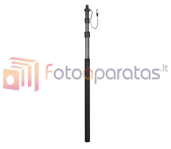Boya Carbon Fiber Boompole BY-PB25 with Internal XLR Cable