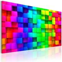 LARGE CANVAS WALL ART PRINT IMAGE PICTURE PHOTO COLORFUL ...