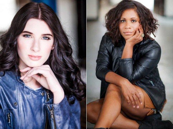 Model Rachael Lever (左) Shareena Clanton/Foxtel (右)