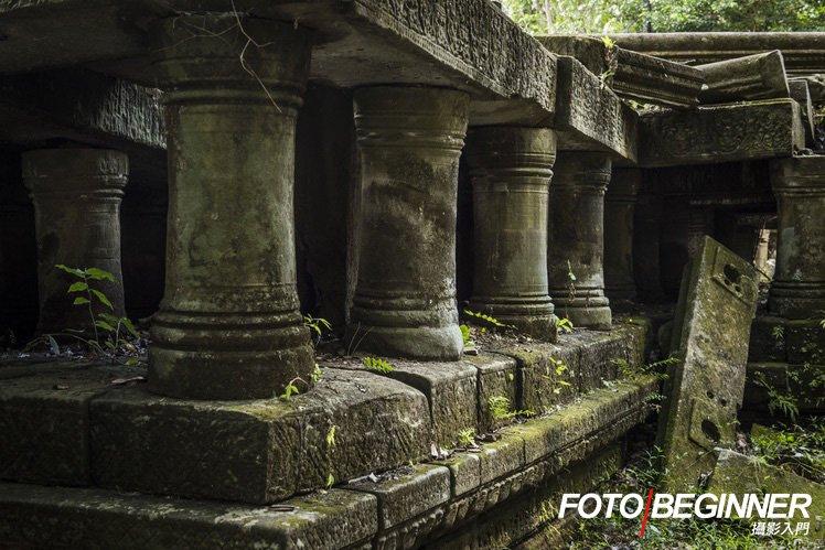 當然不少得到各種廟宇拍攝廢墟的感覺。
