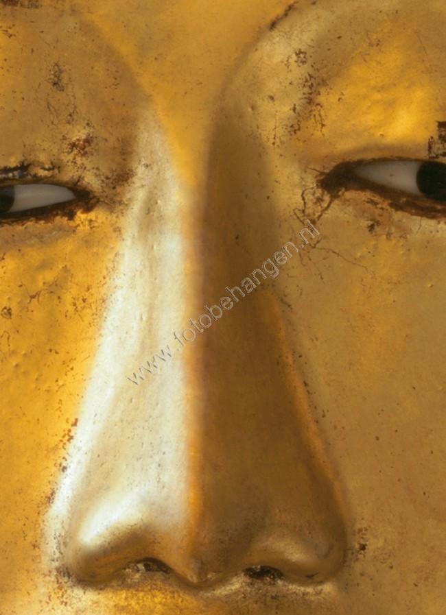 Fotobehang Golden Boeddha  Fotobehangennl