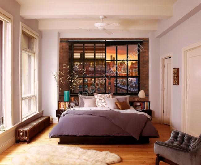 Fotobehang Brooklyn Brick  Fotobehangennl