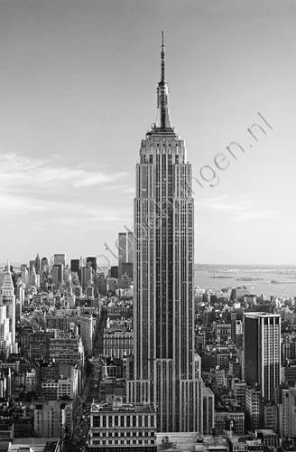 Muurposter Empire State Building  Fotobehangennl