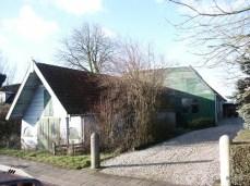 Wagenmakerij Jan van Raad .Opslagplaats van Van Mijl.