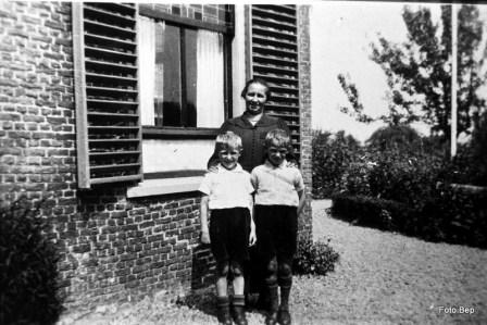 Moeder Wijsman Cor en Aart.