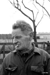 Bertus Verboom met zijn sjekkie.