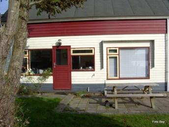 Hier woonde Toos. En Wout van Harskamp. En Mieke
