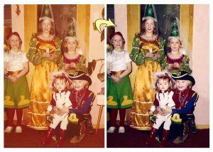 Oude foto restaureren