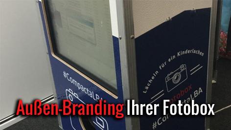 Fotobox mieten Branding