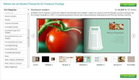 Fotobuch Kochbuch mit Photobox ein Kochbuch gestalten