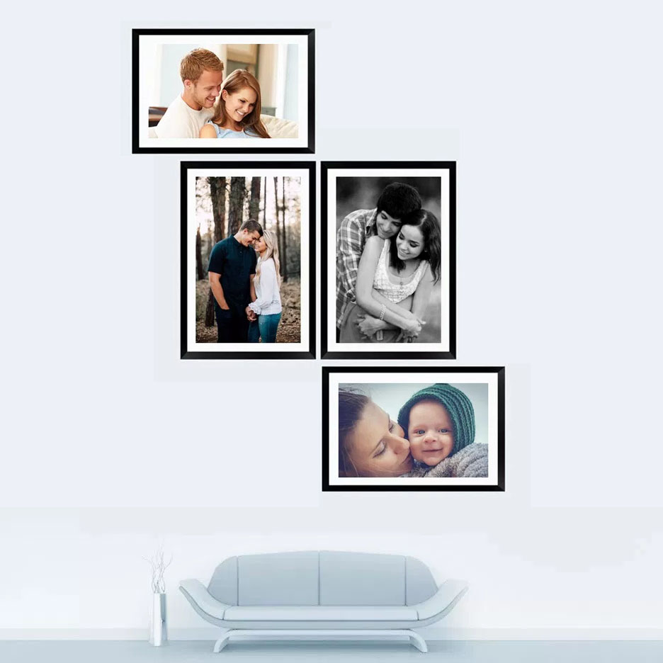 4-Piece Collage Frame Set - FotoClipper