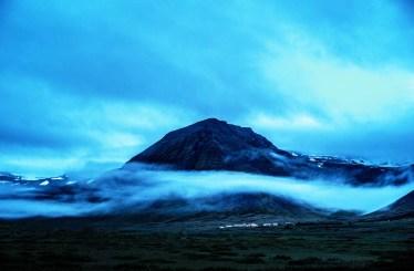 Mitternach in den Westfjorden (Island)