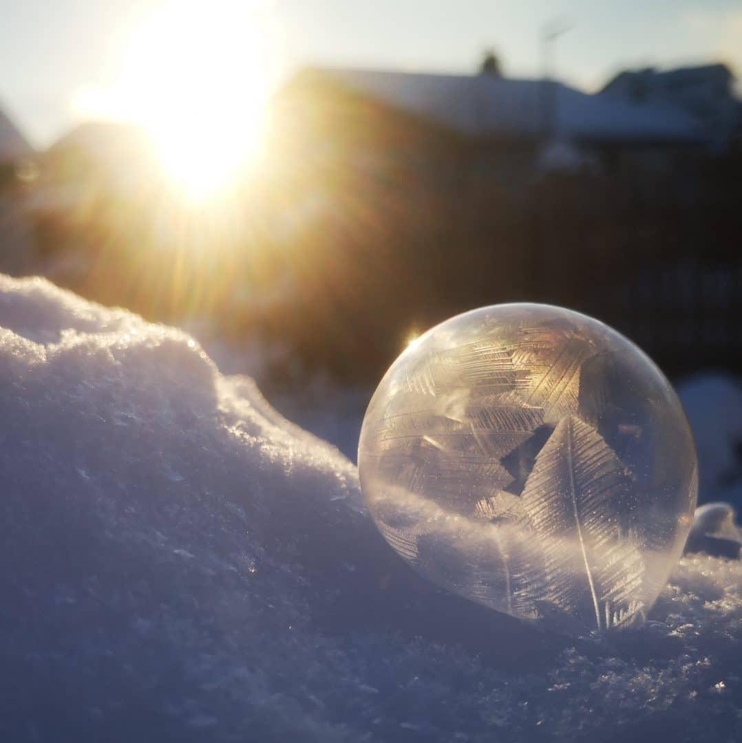 frozen bubble - von Andrea Meyerhöfer