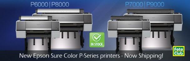 best Epson wide format p-series printers