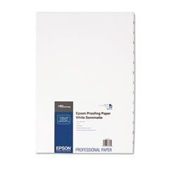 Epson White Semimatte Proofing Paper 13