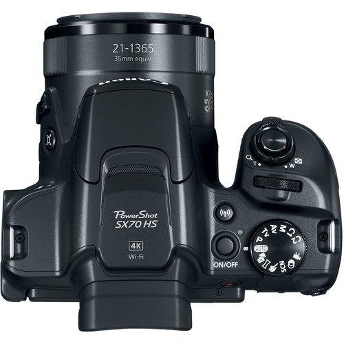 Canon Powershot Sx70 Hs Digital Camera 6