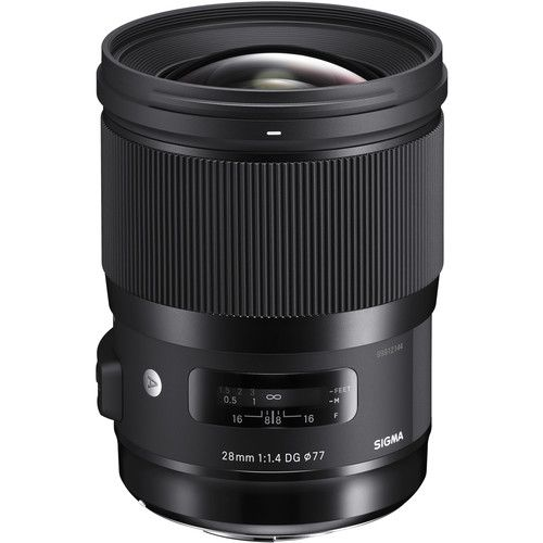 Sigma 28mm f/1.4 DG HSM Art Lens (Sony E)