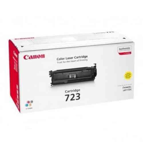 Canon Cartridge 723 Yellow