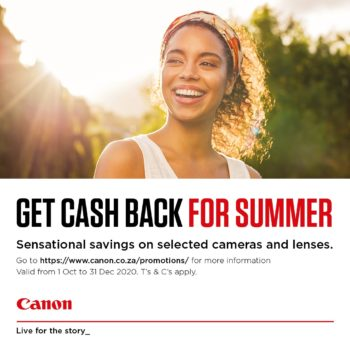 Canon Cash Back