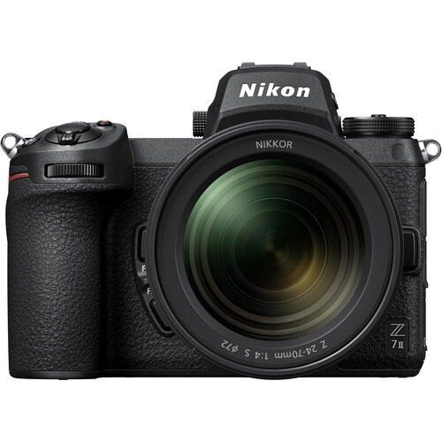 NIKON Z7II. + 24-70mm lens