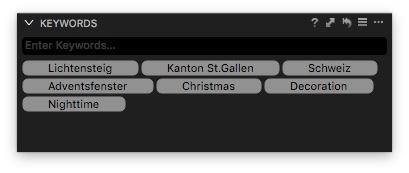 Ortsangaben für die Online-Galerie in die Schlüsselwörter geschrieben? Dann können Sie diese jetzt auch für Menschen schnell erfassbar ins Netz stellen.