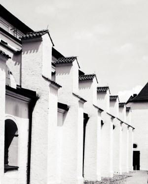 Freisinger Dom (Sekor 90 mm, auf Ilford FP4+)