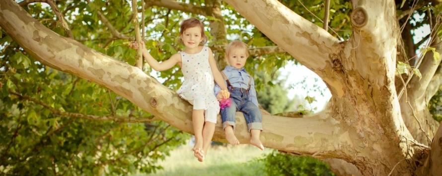 Zauberhafte Geschwisterbilder in der Natur  Fotoeule Smol