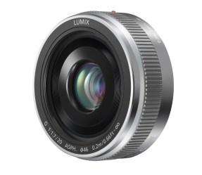 Panasonic G-Serie 20 mm/F1.7 II ASPH. zilver