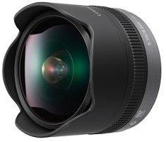 Panasonic MFT 8mm F/3.5 fish-eye ED (micro-fourthird, eqv. 16mm)