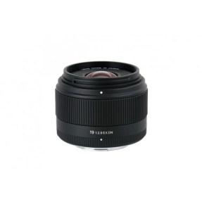 Sigma NEX 19mm F/2.8 zwart ART DN voor Sony NEX