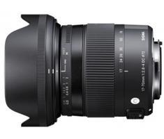 Sigma 17-70mm F/2.8-4.0 DC Macro CONTEMPORARY HSM Canon