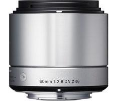 Sigma MFT 60mm F/2.8 zilver ART DN voor Panasonic G, Olympus MFT-0