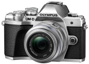 Olympus OMD E-M10 mark III zilver + 14-42mm EZ zilver