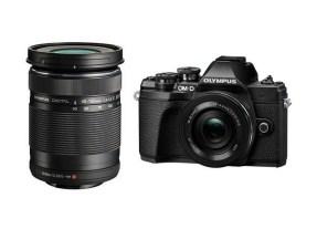 Olympus OMD E-M10 mark III zwart + 14-42mm EZ zwart + 40-150mm R zwart