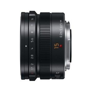 Panasonic MFT 15mm F/1.7 zwart ASPH Leica DG Summilux