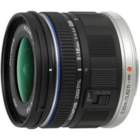 Olympus MFT 9-18mm F/4.0-5.6 zwart ED M.Zuiko Digital