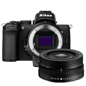 Nikon Z50 body zwart + 16-50mm F/3.5-6.3 VR + FTZ adapter