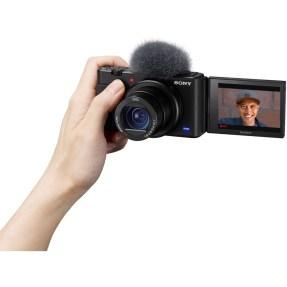 Sony vlog camera ZV1 + GP-VPT2BT bluetooth vlogging grip-6337