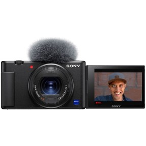 Sony vlog camera ZV1 + GP-VPT2BT bluetooth vlogging grip-6332