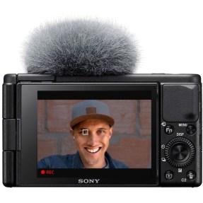 Sony vlog camera ZV1 + GP-VPT2BT bluetooth vlogging grip-6334
