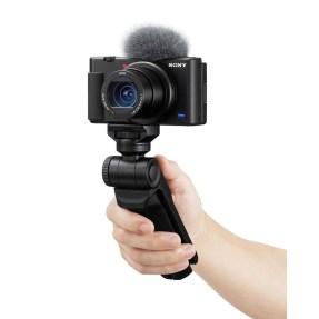 Sony vlog camera ZV1 + GP-VPT2BT bluetooth vlogging grip-6342