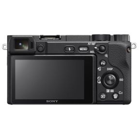 SONY A6400 BODY ZWART + 16-50MM + 55-210MM